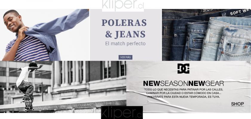 Kliper, vestimenta de marca para grandes y chicos