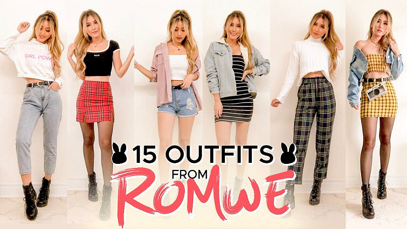 Romwe, ropa original para hombres y mujeres